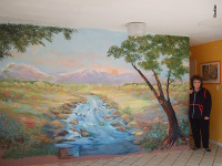 I can also create murals and paintings to enhance your home or office.